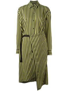 'Dont' striped dress Christian Wijnants