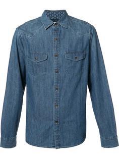 классическая джинсовая рубашка Alex Mill