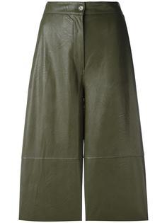 укороченные брюки с панельным дизайном Mm6 Maison Margiela