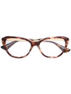 очки в черепаховой оправе Prada Eyewear