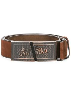 logo plaque belt Jean Paul Gaultier Vintage