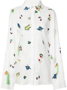 salad print shirt Rosie Assoulin