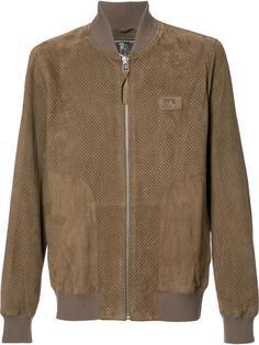 кожаная куртка-бомбер Prps