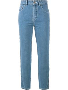 джинсы с отделкой фестонами Chloé