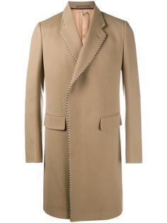 однобортное пальто Gucci