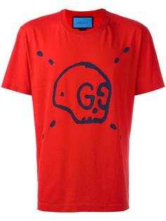 футболка GucciGhost Gucci