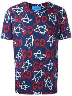 футболка Gucci Ghost Gucci