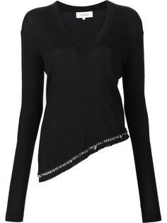 блузка с V-образным вырезом Derek Lam 10 Crosby