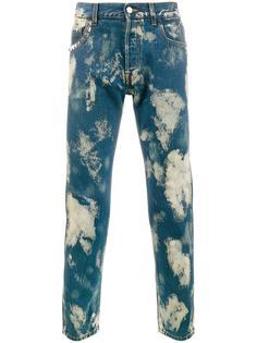 выбеленные джинсы Gucci