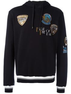 musical patch hoodie Dolce & Gabbana