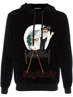 Designer's patch hoodie Dolce & Gabbana