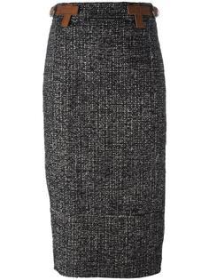 юбка-карандаш с поясом Tom Ford