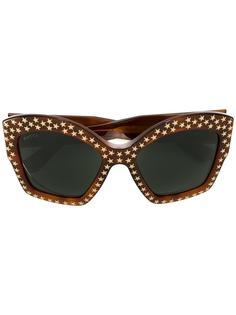 солнцезащитные очки с заклепками Gucci