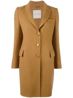 классическое пальто кроя миди Ermanno Scervino