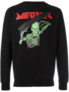 'Mirror Skull' sweatshirt Off-White