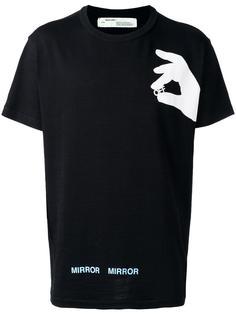 футболка с принтом логотипа Off-White