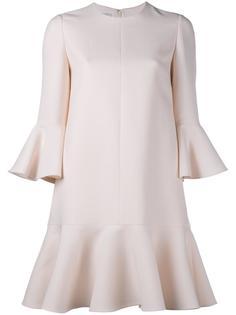 креповое мини-платье Valentino