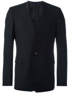пиджак без воротника Lanvin