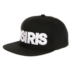 Бейсболка с прямым козырьком Osiris Snap Back Hat Nyc Chr