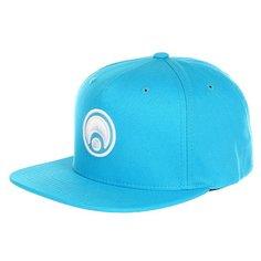 Бейсболка с прямым козырьком Osiris Snap Back Hat Standard Trq/White