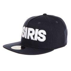 Бейсболка с прямым козырьком Osiris Snap Back Hat Nyc Nvy