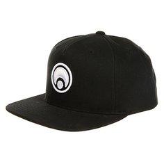 Бейсболка с прямым козырьком Osiris Snap Back Hat Standard Black/White