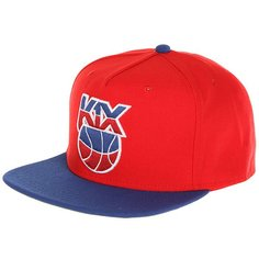 Бейсболка с прямым козырьком K1X Petro Snapback Red/Blue