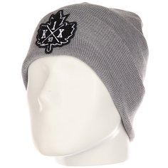 Шапка K1X Pa Beanie Dark Grey Heater