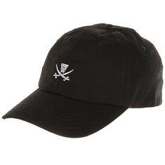 Бейсболка классическая K1X Pirate Dad Cap Black/White