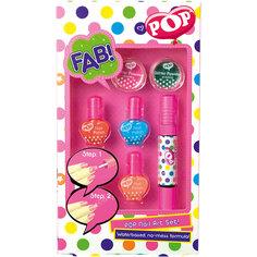 """Игровой набор детской декоративной косметики """"POP"""" для ногтей -"""