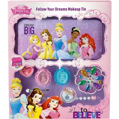Игровой набор детской декоративной косметики с пеналом, Принцессы Дисней -