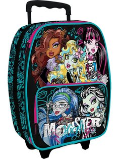 Чемоданы Monster High