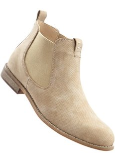 Ботинки-челси (бежевый) Bonprix