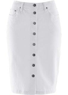 Джинсовая юбка (синий) Bonprix
