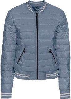 Стеганая куртка (черный) Bonprix