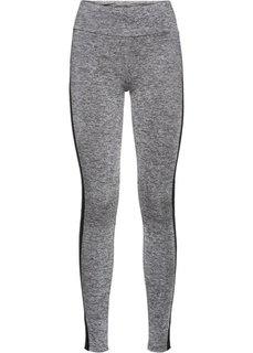 Длинные брюки для бега (сапфирно-синий/неоновый лосось) Bonprix