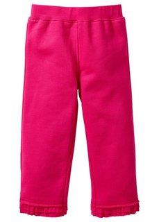 Трикотажные брюки + шорты из биохлопка (2 изд.) (горячий ярко-розовый/нежно-лил) Bonprix