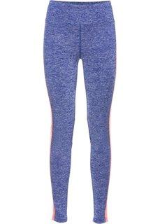 Длинные брюки для бега (шиферно-серый/черный меланж) Bonprix