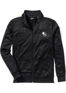 Трикотажная куртка Slim Fit (лазурный) Bonprix