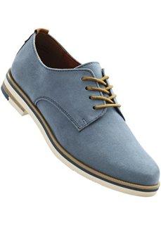 Туфли на шнурках (серо-коричневый) Bonprix