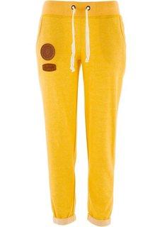 Трикотажные брюки (светло-серый меланж) Bonprix