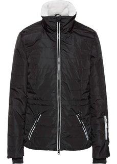 Функциональная стеганая куртка 3 в 1 (лососевый неон) Bonprix