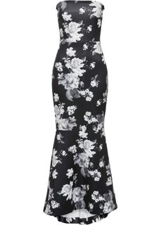 Платье (кремовый в цветочек) Bonprix