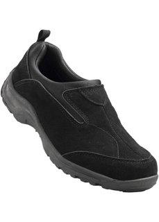 Кожаные туфли (песочно-бежевый) Bonprix