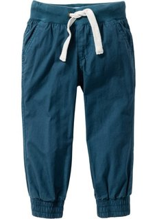 Тканые спортивные брюки (темно-синий) Bonprix