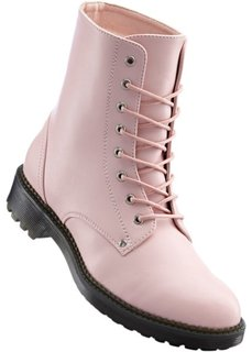 Ботинки на шнурках (серо-коричневый) Bonprix
