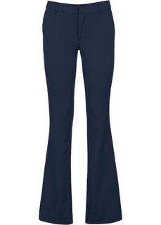 Офисные брюки BOOTCUT (черный) Bonprix