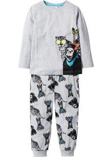 Пижама (2 изд.) (светло-серый меланж) Bonprix