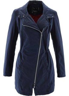 Куртка-парка для межсезонья на легкой подкладке (красный) Bonprix