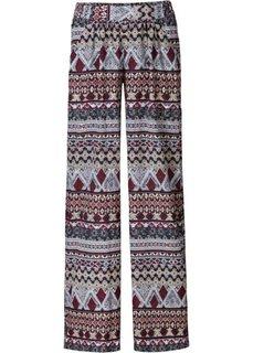 Ультраширокие брюки-палаццо (черный) Bonprix